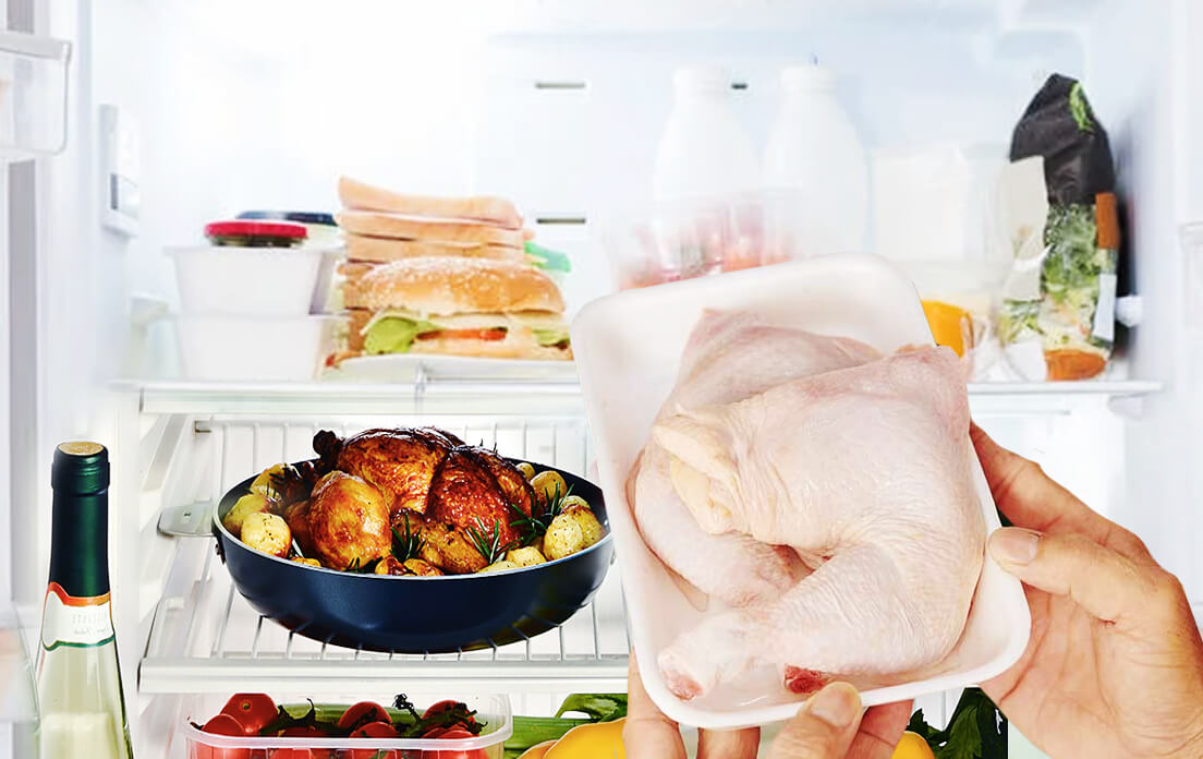 How Long Can Cooked Chicken Stay In The Fridge: Can It Be Put Back In The Refrigerator?