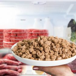 how long does cooked ground beef last in the fridge