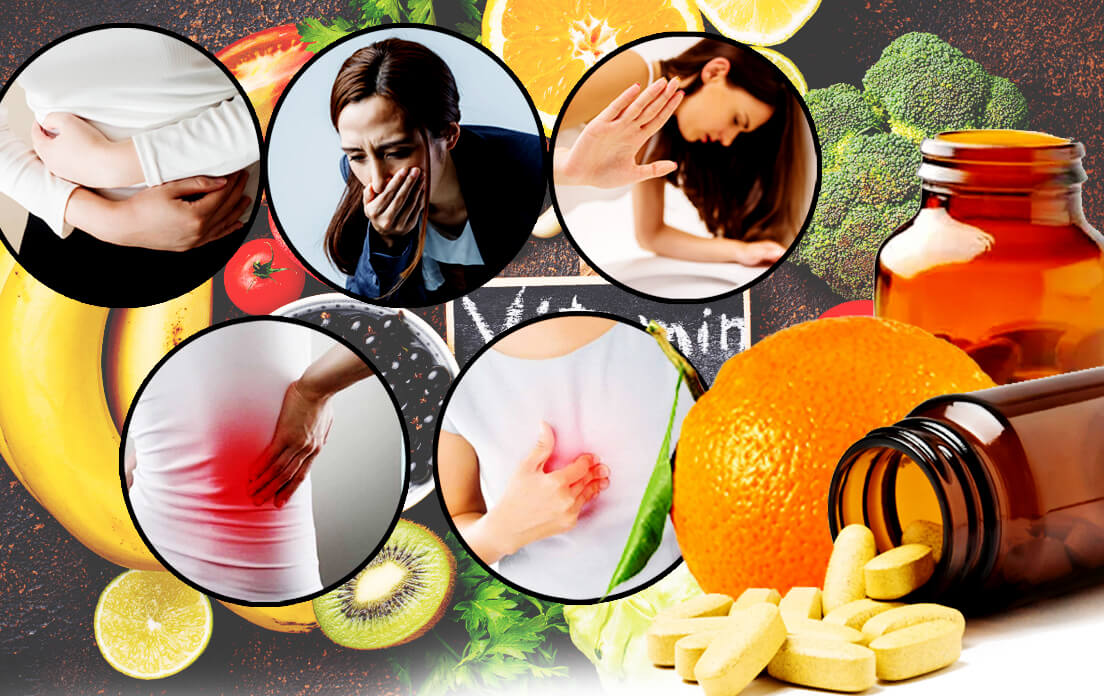 How Much Vitamin C is Recommended What Are The Side Effects If Overdose