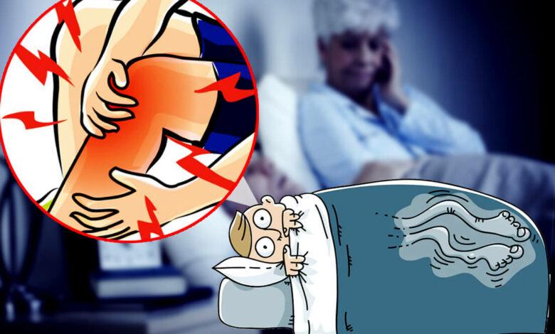 Night Leg Cramps in Seniors Causes and Symptoms