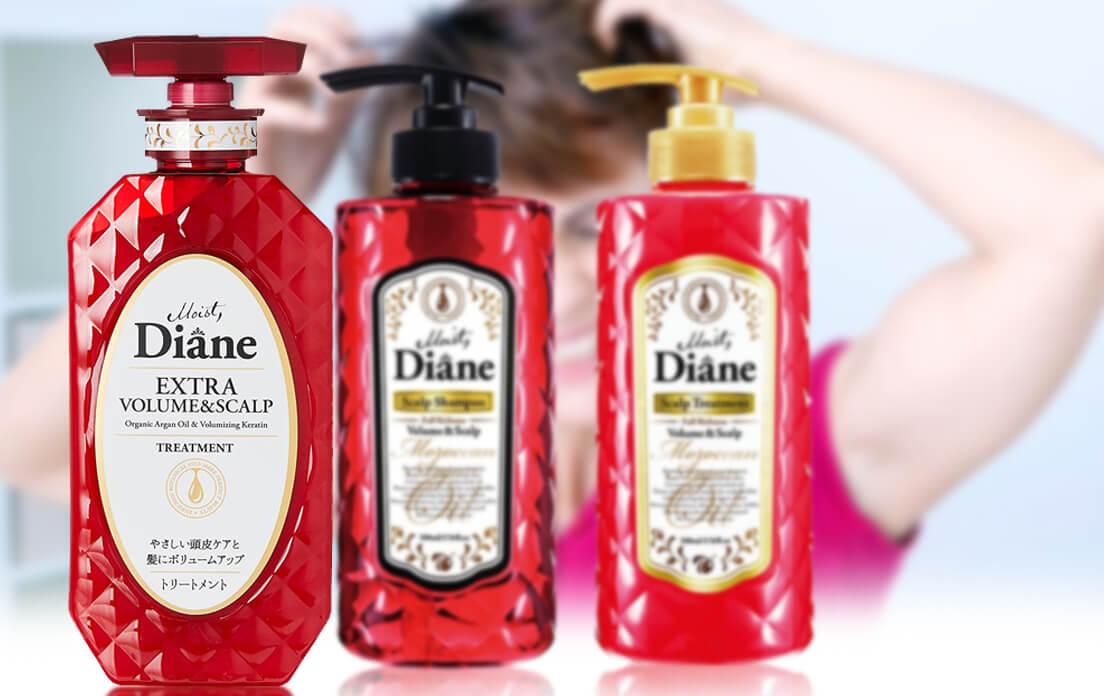 Moist Diane Extra Volume &Scalp Shampoo