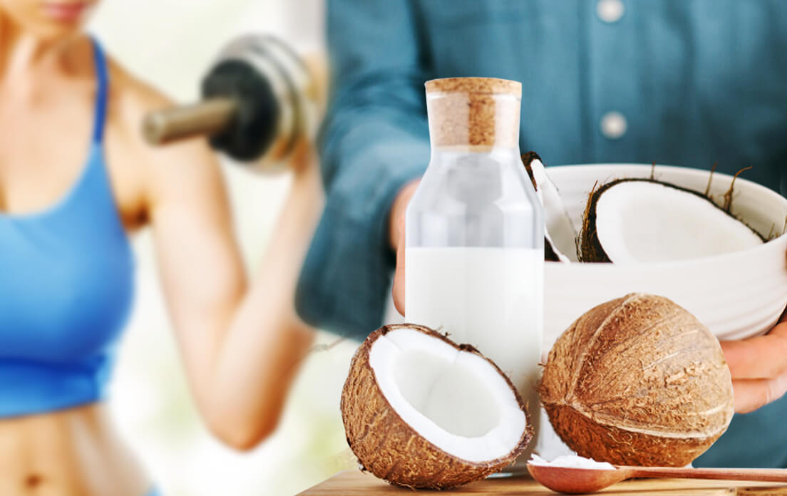 benefits of coconut oil consist of regulated metabolic process