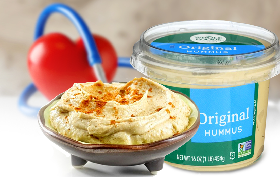 health benefits of hummus for men and for women