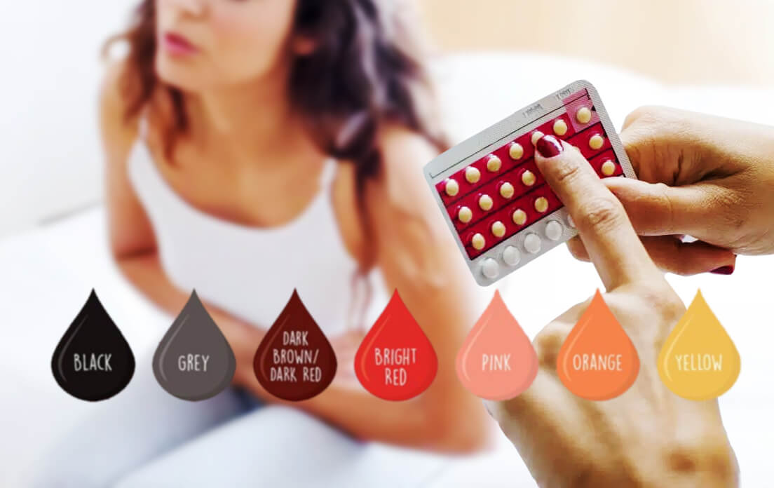 what does it mean if your period blood is brown