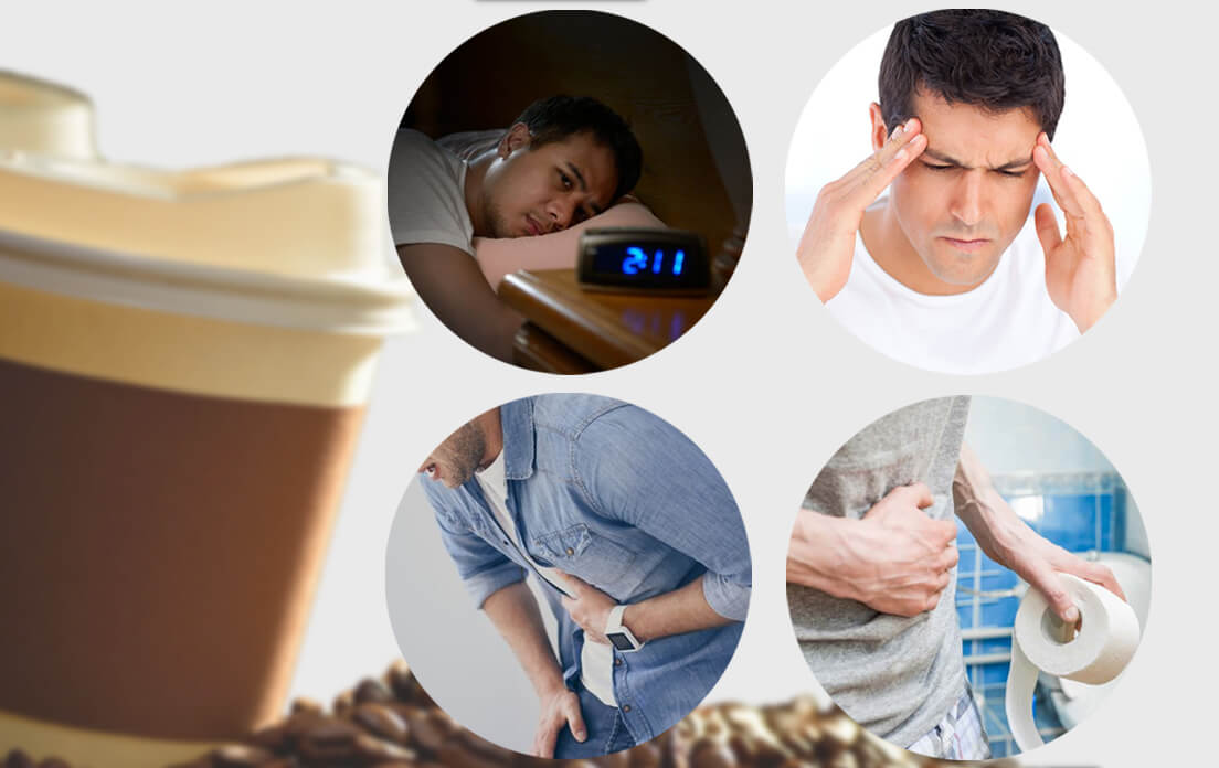 how many milligrams of caffeine in coffee cup: and Dangers of drinking coffee