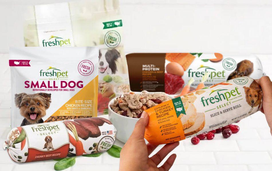 fresh pet dog food refrigerated