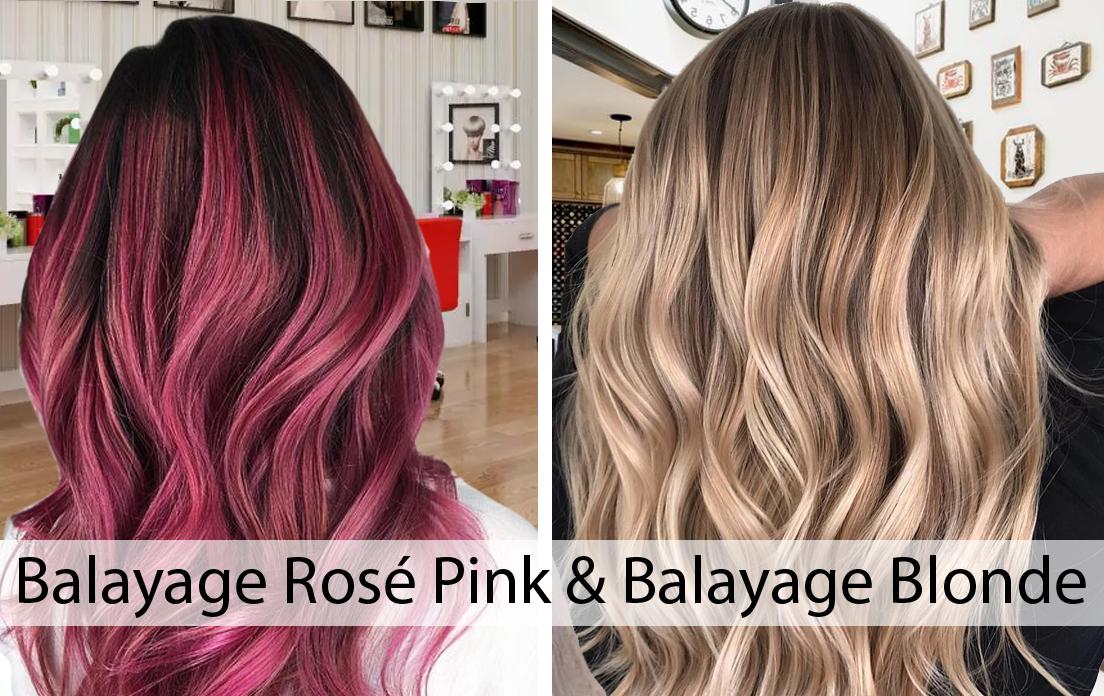 Balayage Rosé Pink