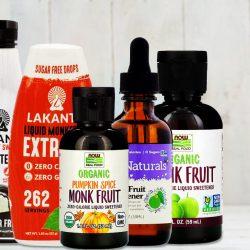 liquid monk fruit sweetener