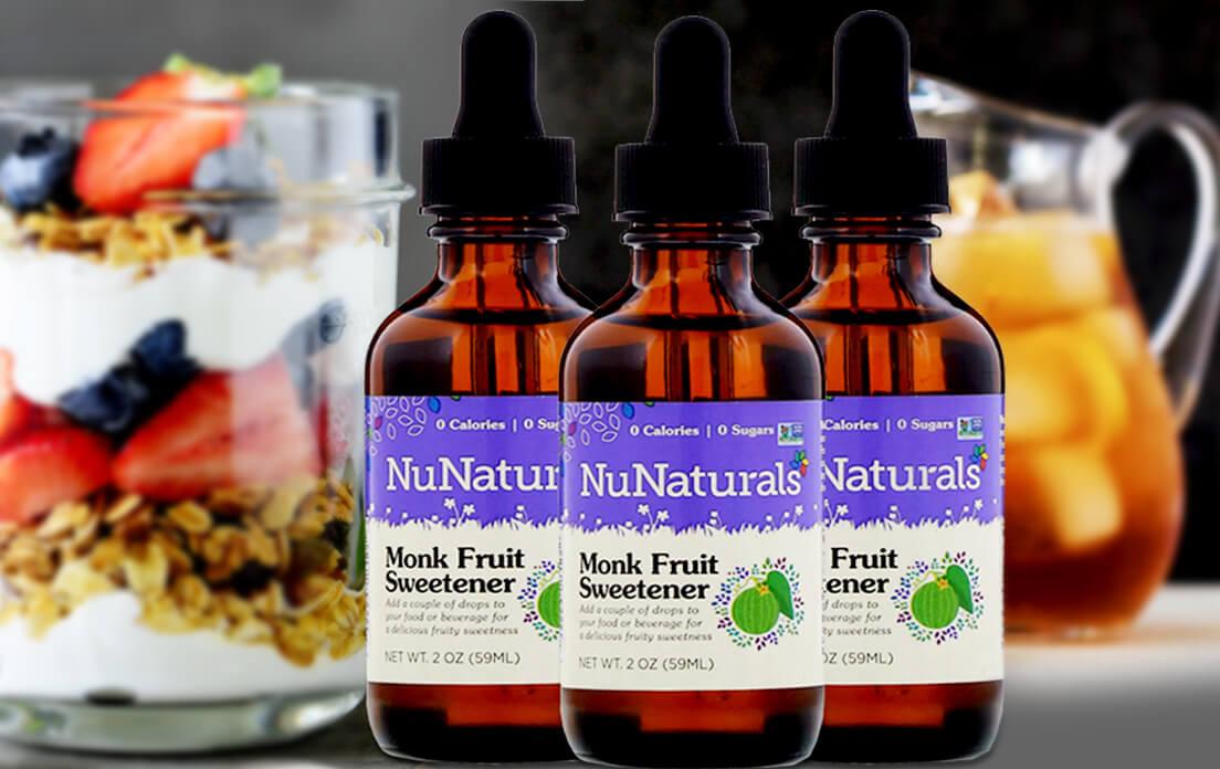 NuNaturals, Monk Fruit Sweetener, 2 oz (59 ml)