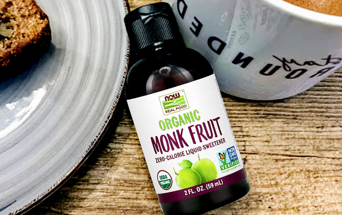 Organic Monk Fruit Liquid Sweetener
