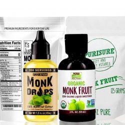 monk fruit sweetener without erythritol