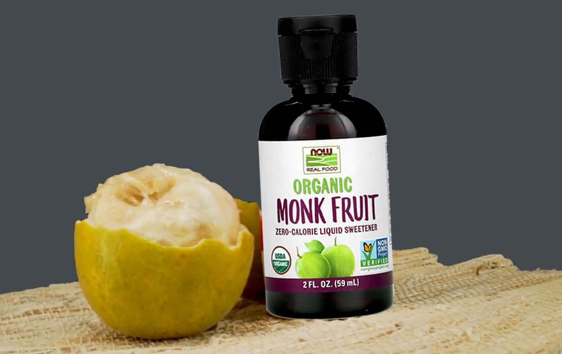 NOW Foods Monk Fruit Liquid Organic