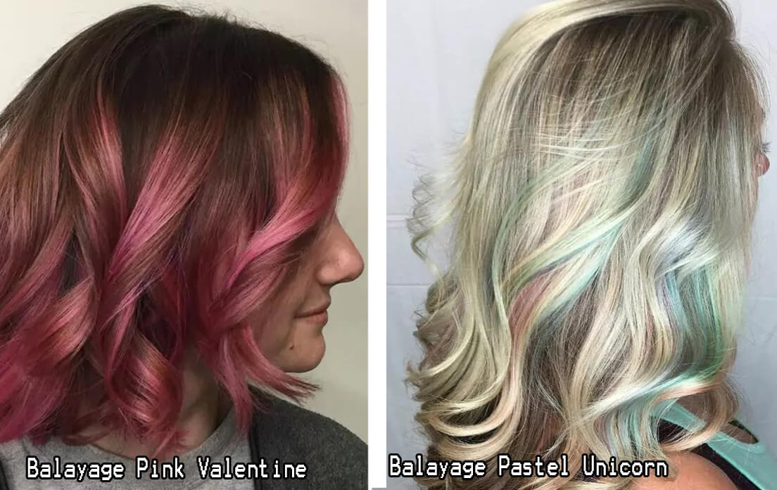 Balayage Pastel Unicorn