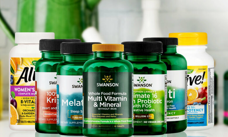 swansons vitamins and supplements