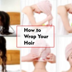 how to wrap your hair