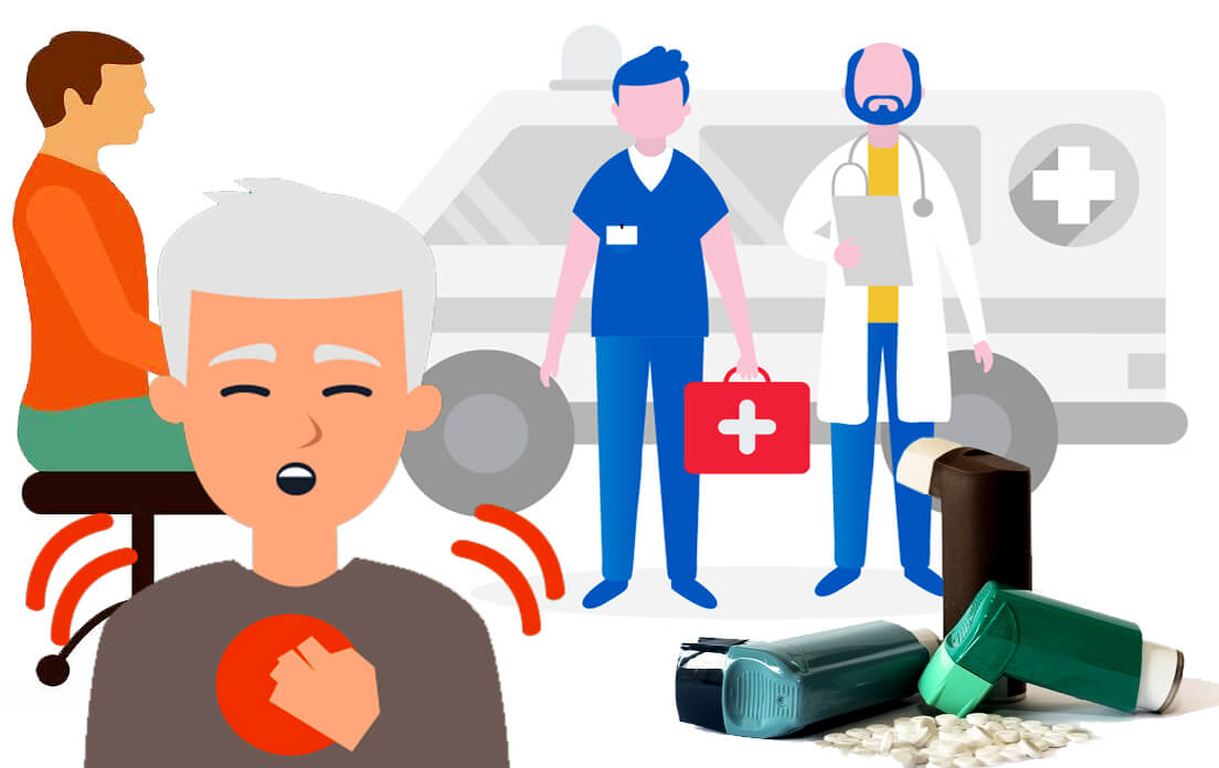 Shortness of Breath: What to do and First AID
