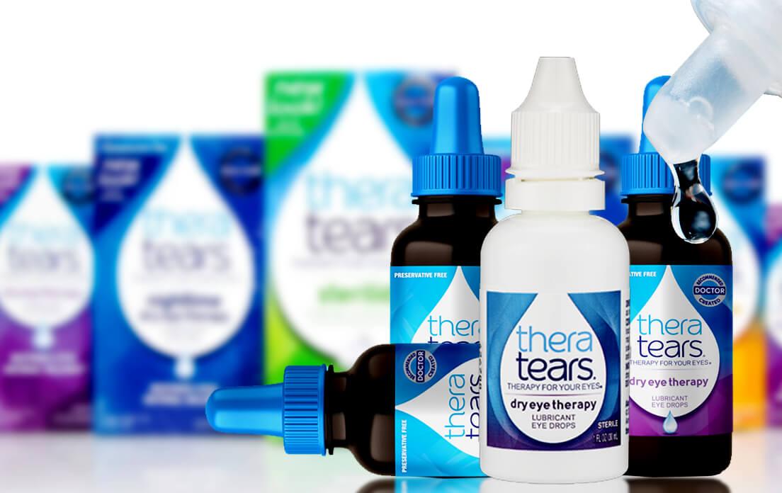 TheraTears Eye Drops- Best Dry Eye Lubricant